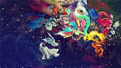 """Trippy Art Print Digital Miscellaneous Psychedelic 40/"""" x 24/"""" Poster T141"""