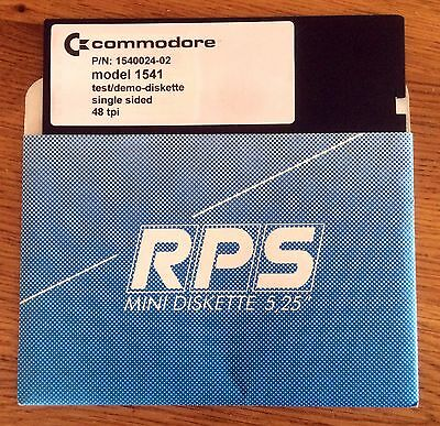 Commodore 64/128 1541 Disk Drive Test Utilities & Demo Floppy Disk