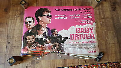 Baby Driver cinema poster