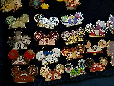 Disney Pin - Mickey Mouse Icon Mystery Pack Hats 2013- Lot of 15!