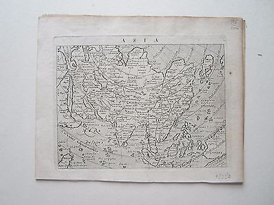 Asia Magini Ptolemy 1617 orig. antique map