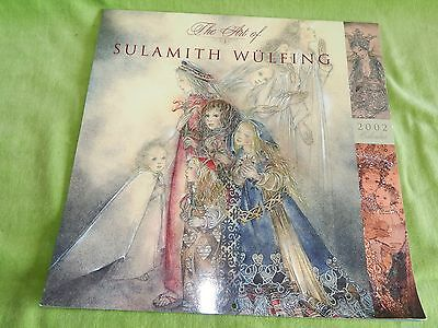 THE ART OF SULAMITH WULFING 2002 Calendar, Prints for Framing, Fairies & Angels