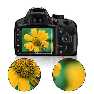 Clear Tempered Glass Screen Film LCD Protector For Nikon D3100/D3200/D3300