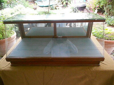 Art Deco / Table top display show case 36 in wide x 16 high x 12 deep