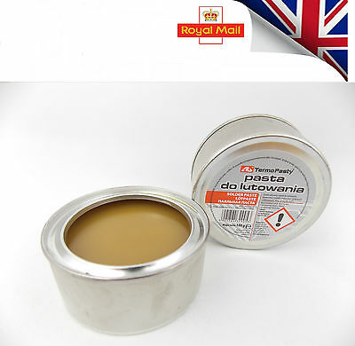 2x New flux soldering paste in the 100g tin for electronics SMD plumbing DIY etc