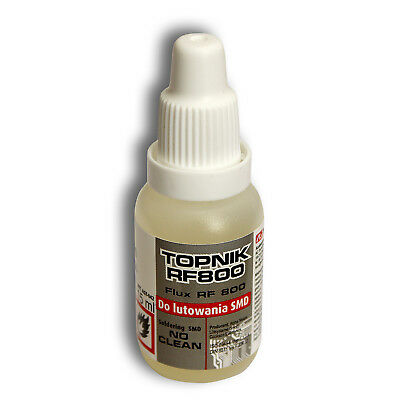 Soldering flux Liquid 15ml oiler - SMD No Clean