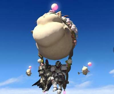 FINAL FANTASY XIV FFXIV FF14 Item Mount Fat Moogle (Account-Wide) / Code Not Gil
