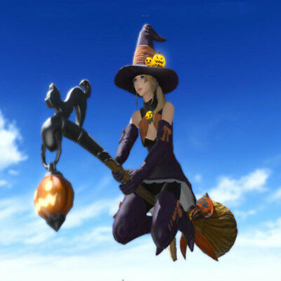 FINAL FANTASY XIV FFXIV FF14 item Mount: Witch's Broom (Single Character) no gil