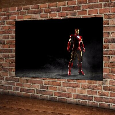 HD Print Iron Man Poster Art Home Wall Decor Oil Painting On Canvas Unframed