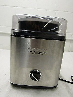 Cuisinart 2Qt. Ice Cream Frozen Yogurt & Sorbet Maker Ice-30BC Series