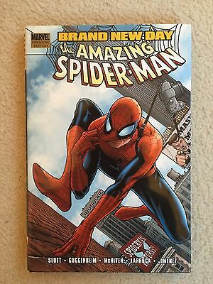SPIDER-MAN 'BRAND NEW DAY' COMPLETE 3x hardcover #1,2 & 3