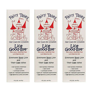 FAIRY TALES Lice Good-Bye, 4 oz - Pack of Three