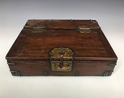 A Chinese Mounted Document Box
