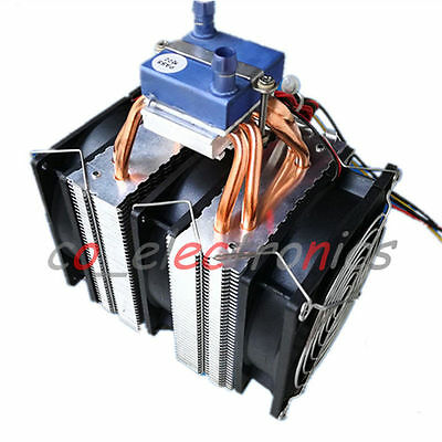 Thermoelectric Peltier Refrigeration Water Chiller Cooling System Cooler Device