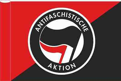 Antifaschistische Aktion Flagge