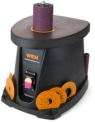 WEN 3.5 Amp 1/2 HP Oscillating Spindle Sander Smoothing Woodworking Arcs Curves