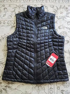 NWT Women's The North Face Thermoball Vest Black Size L #1213