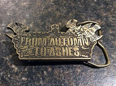 From Autumn To Ashes Belt Buckle