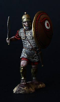 Elite: Carthaginian Heavily Armed Soldier Tin toy soldier 54 mm, metal sculpture