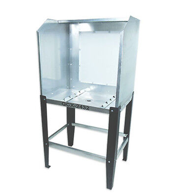 Quick Clean QCX-2432 Econo Washout Booth - screen printing silk screening tank