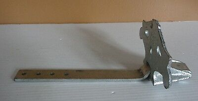 Vintage Siegar Mfg. Co. Cast Steel Roof Stop Snow Guard Pat. 1923