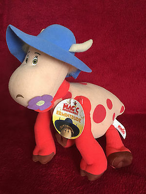 MAGIC ROUNDABOUT SOFT TOY ERMINTRUDE COW WITH TAGS 25cm High