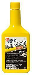 Gunk M2713;Power Steering Fluid; 12 Ounce Bottle;Stops Leak