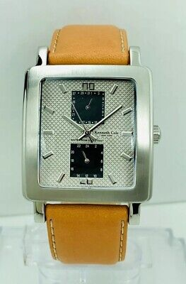 Kennth Cole New York  Men's KC1236  Multi-function Square shape Watch