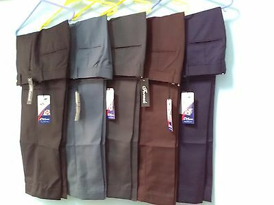 Men trouser office business work formal casual big size plus