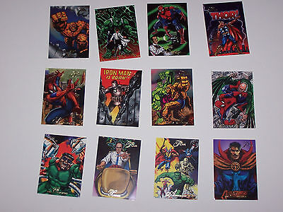 1994 Marvel Flair Base Card Set  1-150