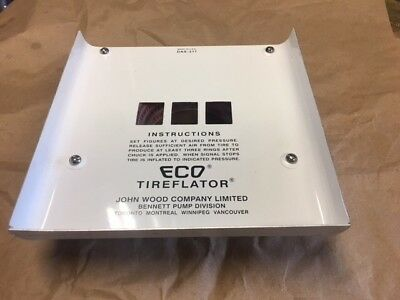 Eco air meter Model 90 Series Faceplate