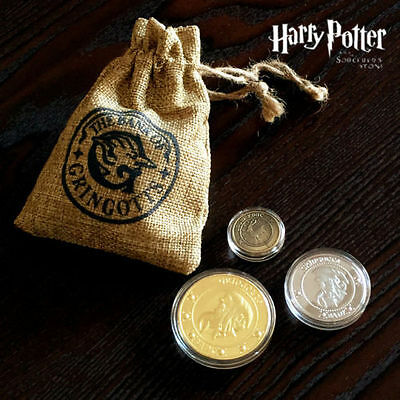 Halloween Hogwarts Gringotts Bank Wizarding Coins Galleons Commemorative Coin
