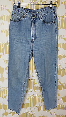 Vintage 80's 90's Levi Strauss Women's Size 10 M MOM JEANS HIGH RISE Made in USA