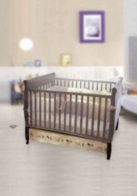 New Nuby Crib Netting, Baby, Toddler, Infant Mosquito Protection