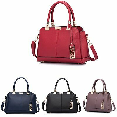 Women's Designer Handbag Purse PU Leather Card Plain Multi Pocket  Shoulder Bag