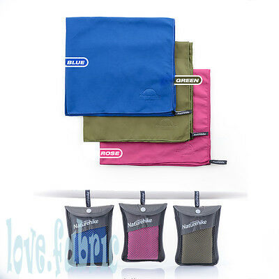 Ultralight Microfibre Quick-Drying Absorbent Towel Shower for Travelling Outdoor