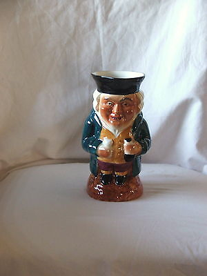 Vintage Large Hand Painted Character Toby Jug ~The Judge? Shorter & Son Signed