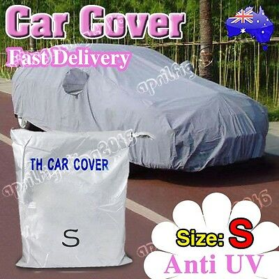 Dustproof UV Resistant Anti-scratch Universal Full Size Car Cover Protection AU