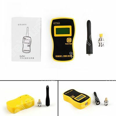 GY561 Portable Handheld Frequency Counter Tester Power Meter For Two Way Radio B