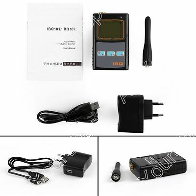 IBQ102 Portable Hand-held Frequency Counter 10Hz-2.6GHz For Two-Way Radio B4