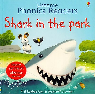 Usborne Phonics Readers Shark in the Park by Phil Roxbee Cox BRAND NEW (P/B 2006
