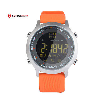 Lemfo EX18 Bluetooth Impermeable Deporte Reloj Inteligente Para Android iPhone