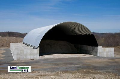 Steel Manufactured 30x40x14 Quonset Barn Farm Building Kit Factory Direct