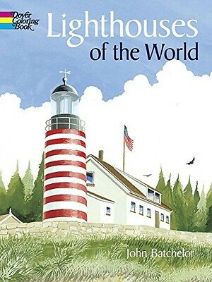 Lighthouses of the World (Dover History Coloring Book)