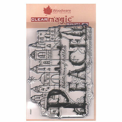 Woodware A6 Clear Cling Stamps - FRS657 Bethlehem Palace