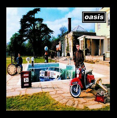 Oasis Be Here Now Greeting Birthday Card Any Occasion Album Cover Blank Official