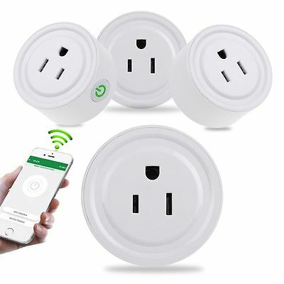 WiFi Smart Phone Remote Control Timer Switch Power Socket Outlet Tool US Plug