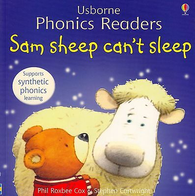 Usborne Phonics Readers Sam Sheep Can't Sleep by Phil Roxbee Cox NEW (P/B 2006)