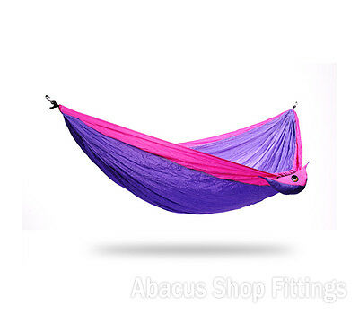 Ticket To The Moon Single Hammock Purple / Pink | Camping Hiking Travel