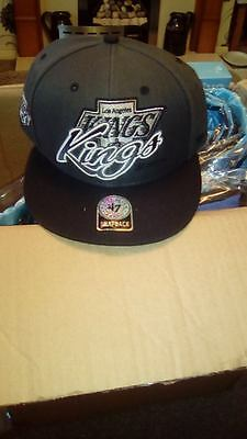 Bnwt La Kings Snapback 47 Baseball Cap Nhl Hockey Los Angeles Black/grey